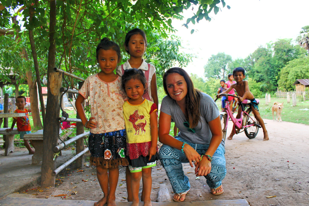On Don Deng Island in Laos  near the end of my two month trip. The me in this picture is confident, open minded, and ready to tackle anything, including a football game with all these local kids on the beach (they won).