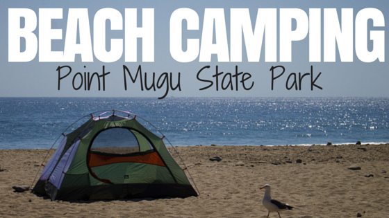 Beach Camping Point Mugu State