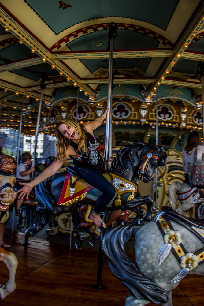 Life should be the equivalent of a drunken ride on a merry-go-round on your 30th birthday. Nothing but joy, with a dash of dizziness and disorientation.