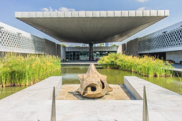 The gorgeous Museo Nacional de Antropología.