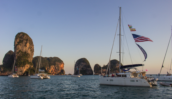 Just off Railay Beach.
