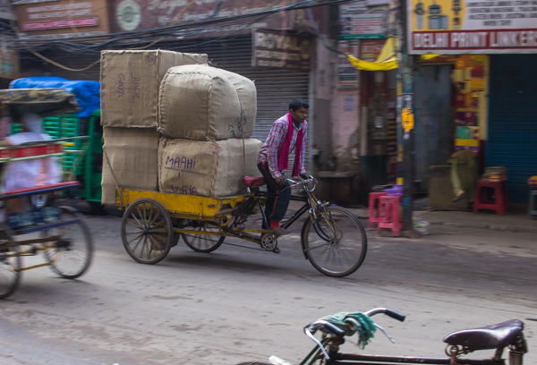 A shot from Old Delhi.
