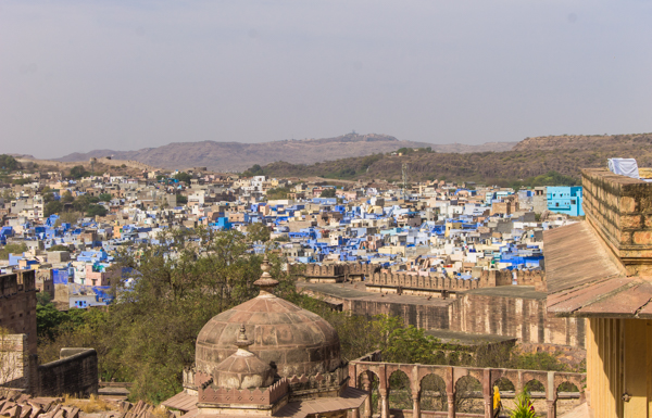 Jodhpur - the Blue City.