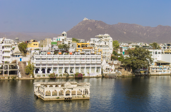 Beautiful Udaipur had a real European feel to it.