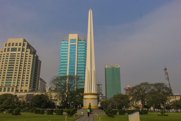 Independence monument.
