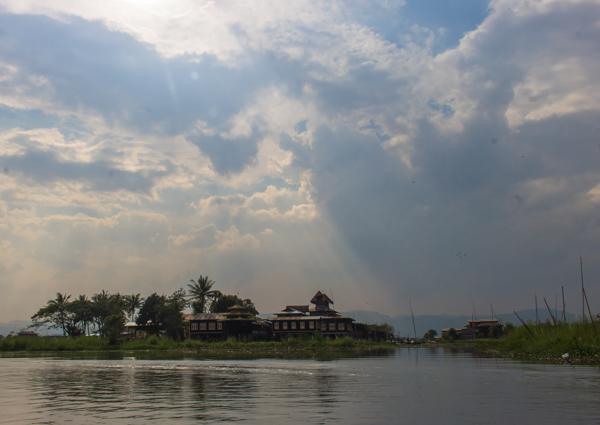 The monastery.
