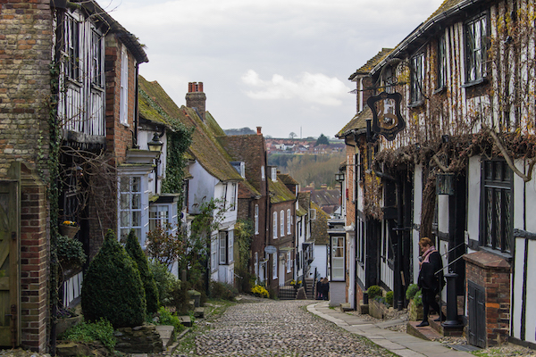 The adorable town of Rye.