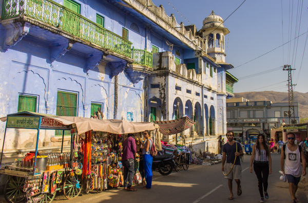 There's lots to buy in Pushkar, especially if you're into hippie clothing and cheap leather purses.